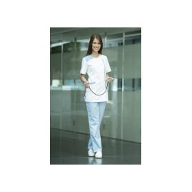 Angelina női tunika kék-fehér