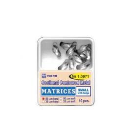 TOR Szekcionált fém matrica small 1.0971(50)