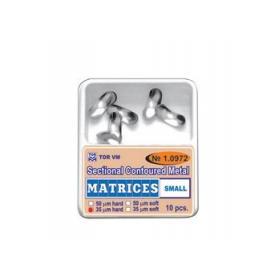 TOR Szekcionált fém matrica small 1.0972(50)