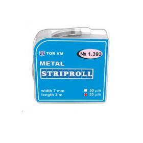 TOR Striproll fém szalag 7mmx50 micron 1.393